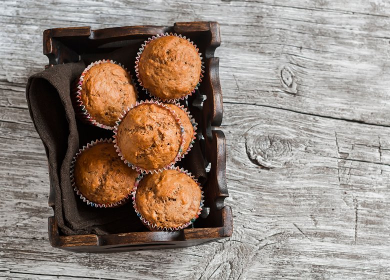Vollkorn-Bananen-Muffins