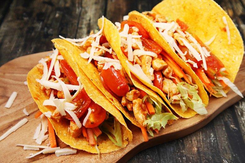 Tacos mit Hähnchen