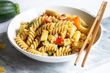 Vegane One Pot Asia-Pasta