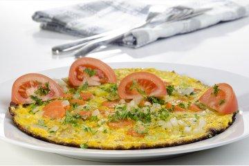 Möhren-Kerbel-Omelett
