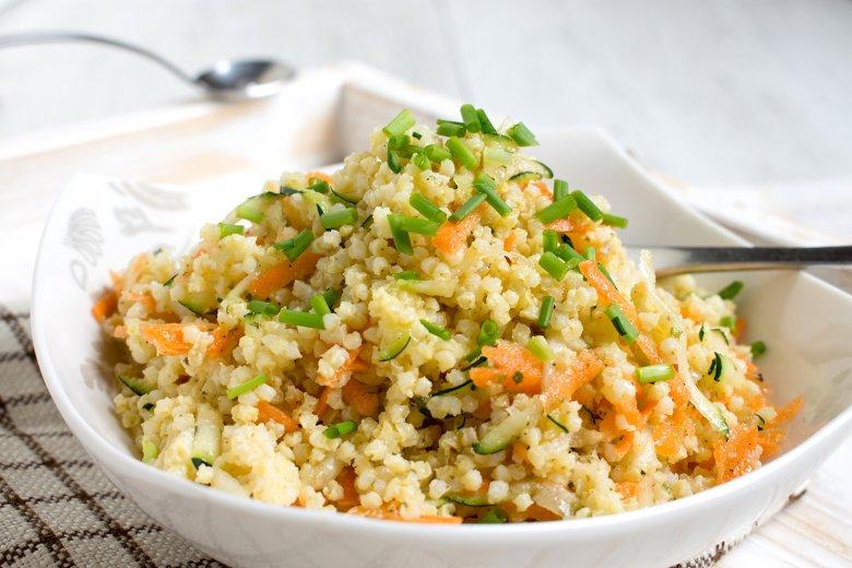 Hirse-Gemüse-Salat