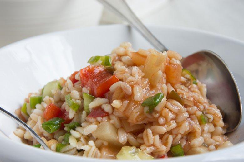Asiatischer Weizensalat