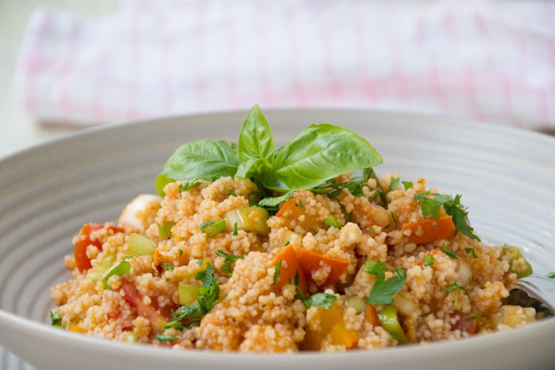 Kürbis-Bulgur-Salat