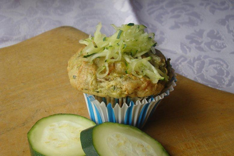 Muffins mit Zucchini