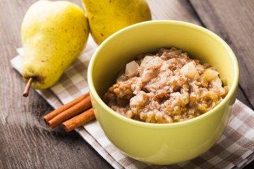 Birnen-Schoko-Porridge