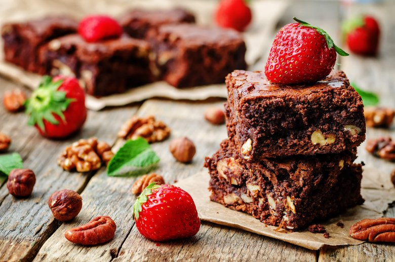Nuss-Brownies