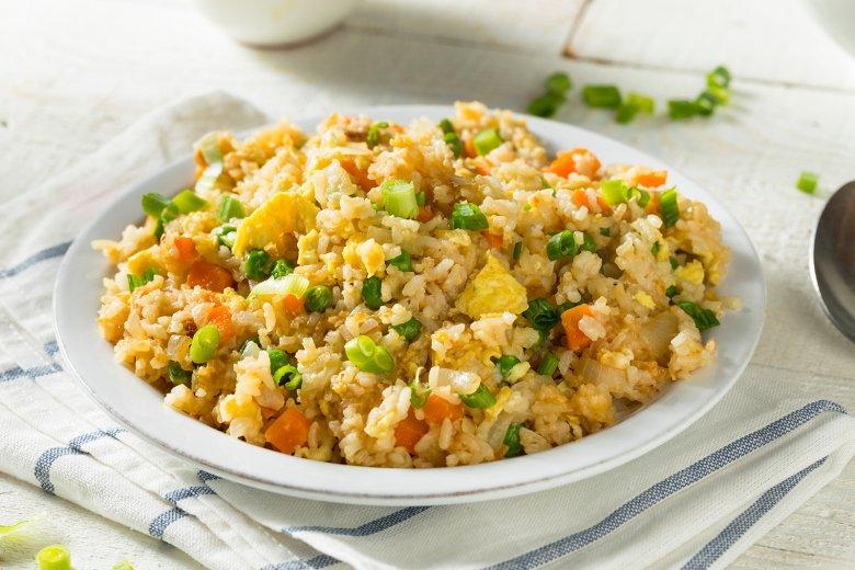Eier-Curry-Reis mit Gemüse