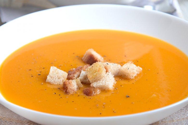 Süßkartoffel-Orangen-Suppe