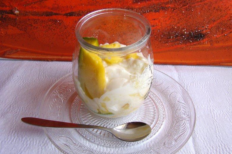 Veganer Mango-Milchreis