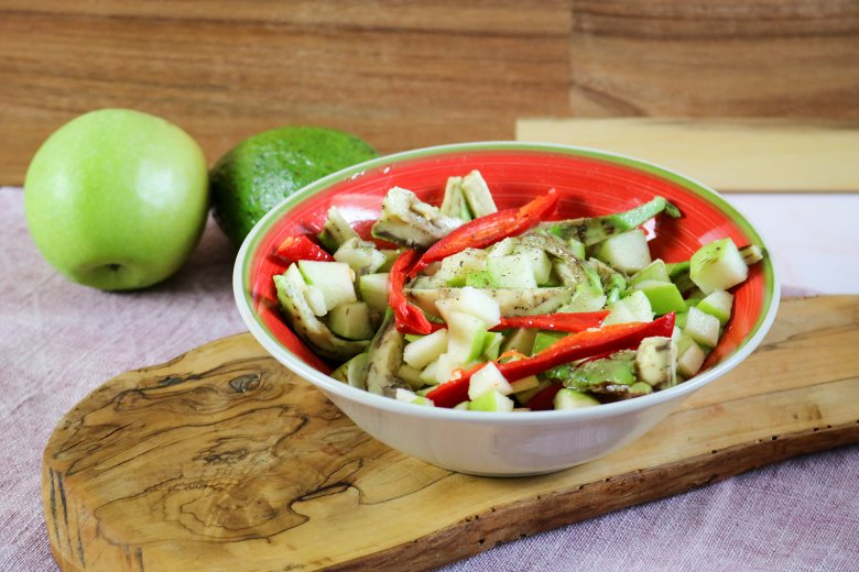 Apfel-Avocado-Salat