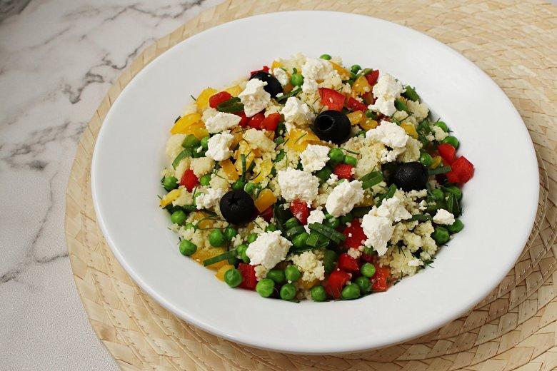 Couscous nach griechischer Art
