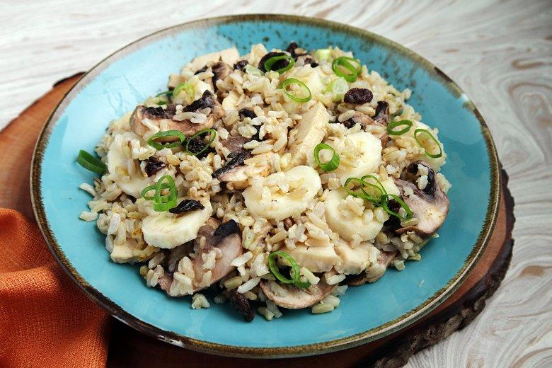 Reissalat nach exotischer Art