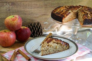 Glutenfreier Apfel-Mandel-Kuchen
