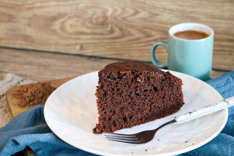 Schokoladen-Mocha-Kuchen mit Ingwer