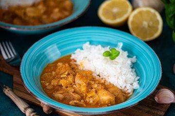 Seelachs-Curry