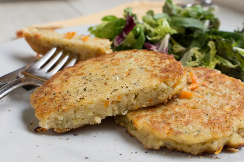 Couscous-Möhren-Frikadellen