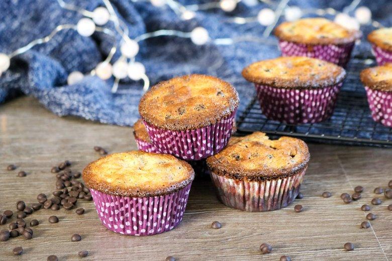 Saftige Schoko-Frischkäse-Muffins
