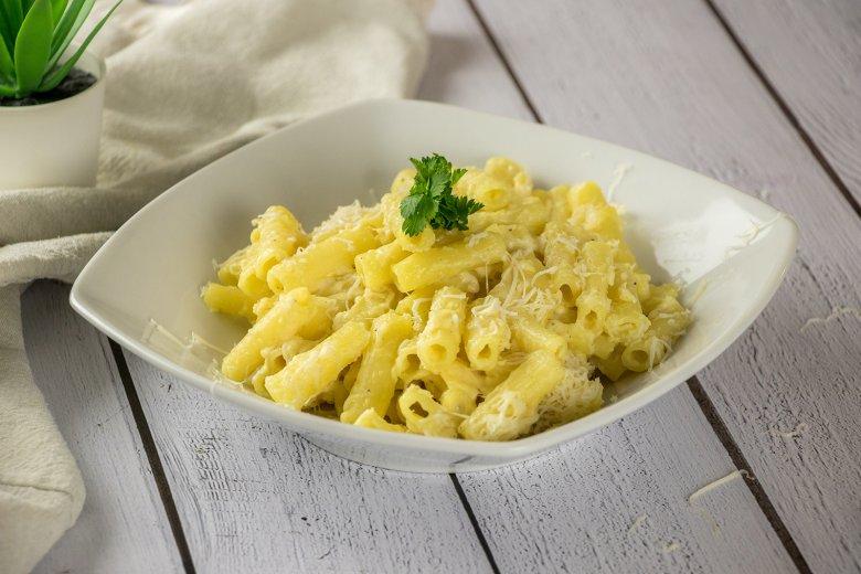Amerikanische Mac and Cheese