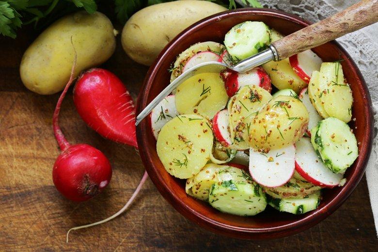 Kartoffelsalat blitzschnell