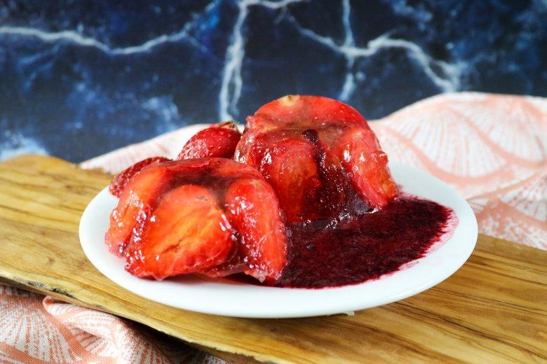 Erdbeersülze