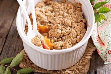 Aprikosen-Crumble