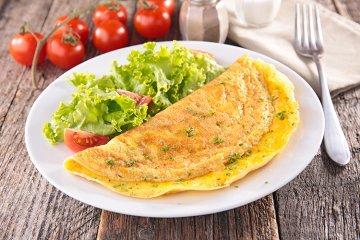 Omelette Grundrezept