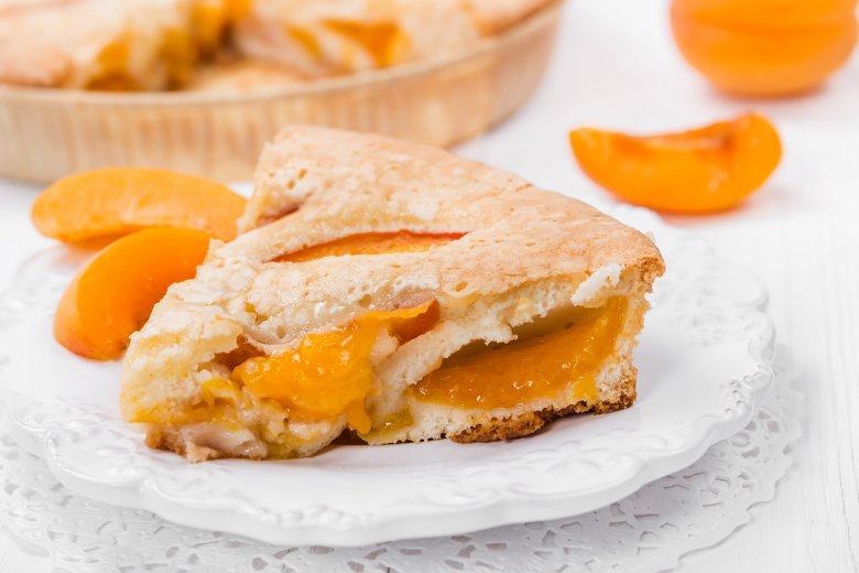 Aprikosenkuchen vegan