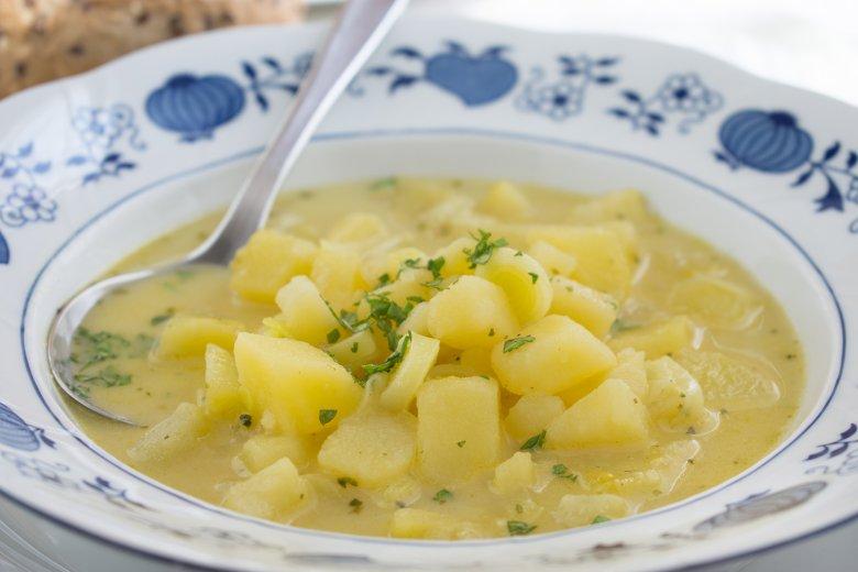Kartoffelsuppe mit Lauch