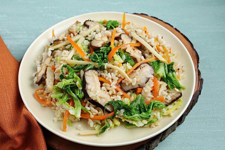 Fernöstliche Reispfanne