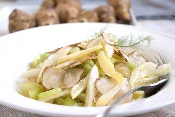 Topinambur-Salat