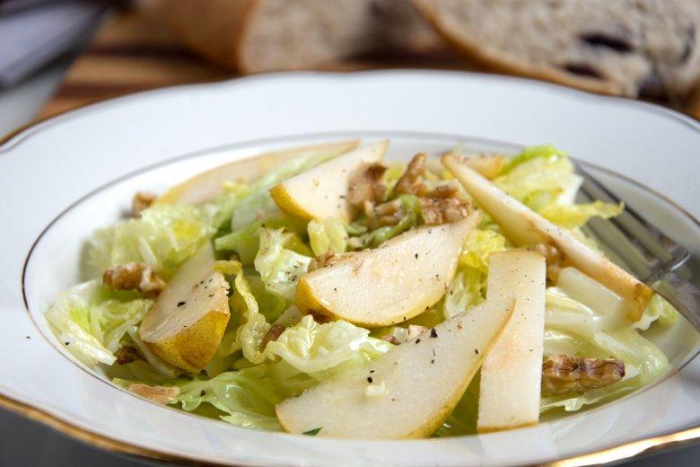 Winterlicher Grünkohlsalat