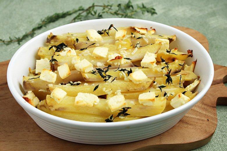 Thymian-Kartoffeln mit Feta