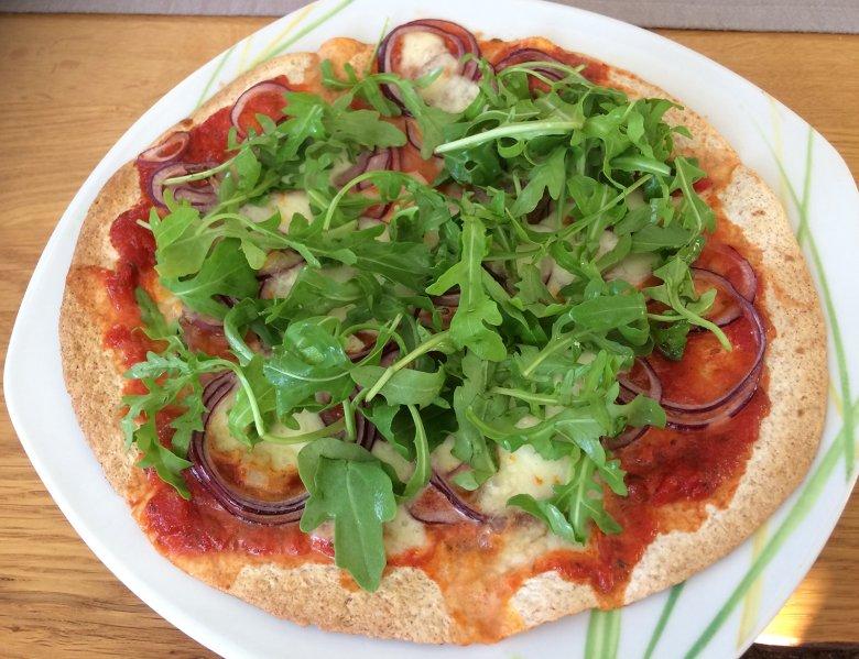Blitzschnelle Tortilla-Pizza