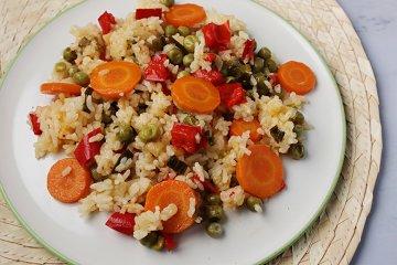 Fruchtiger One Pot-Reis