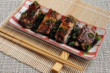 Thunfisch auf Asia-Sauce