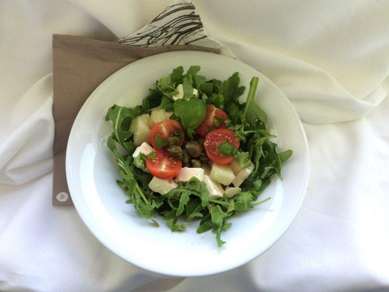 Erfrischender Melonensalat