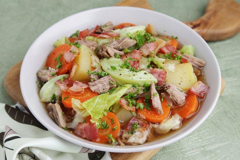 Möhren-Orangen-Salat mit Entenbrust