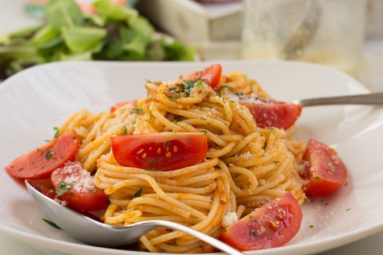 Pasta mit Pesto Rosso