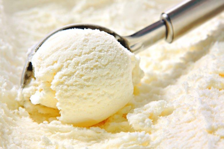 Cremiges Vanilleeis ohne Eismaschine