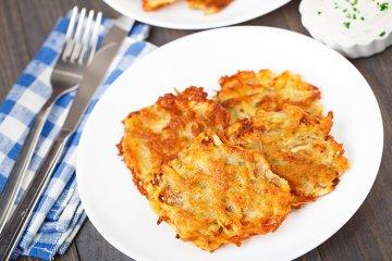 Kartoffel-Sellerie-Rösti