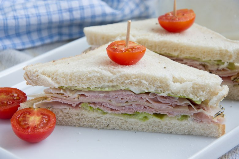 Schinkensandwich