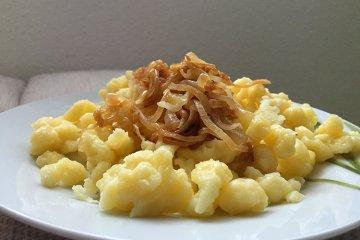 Herzhafte Käsespätzle