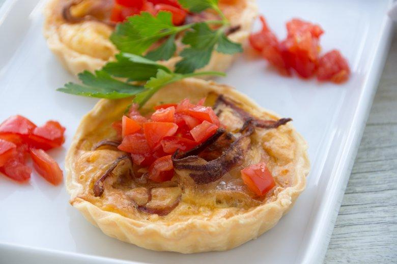 Salami-Paprika-Tarteletts