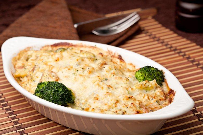 Lachs-Brokkoli-Lasagne