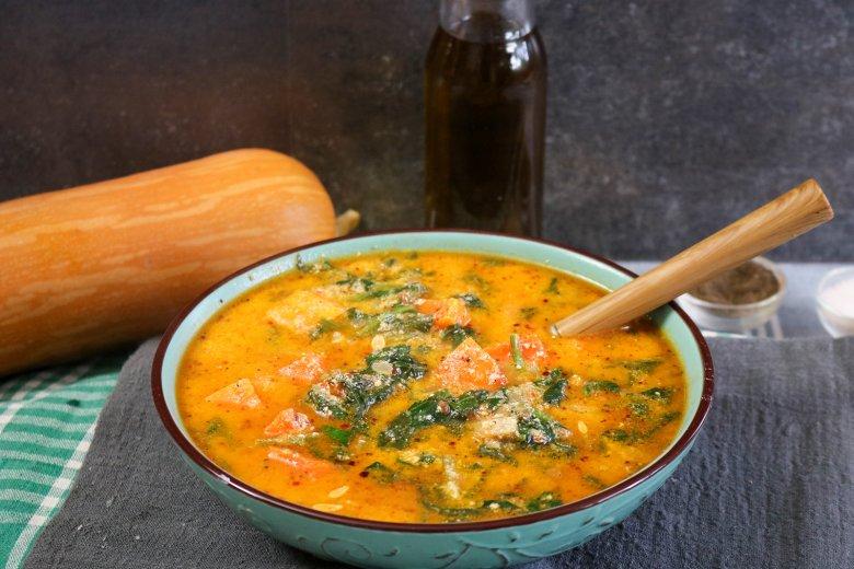 Kürbis-Curry in Kokosmilch