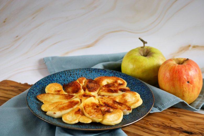 Apfel-Speck-Pfannkuchen