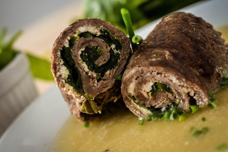 Involtini mit Spinat und Ricotta