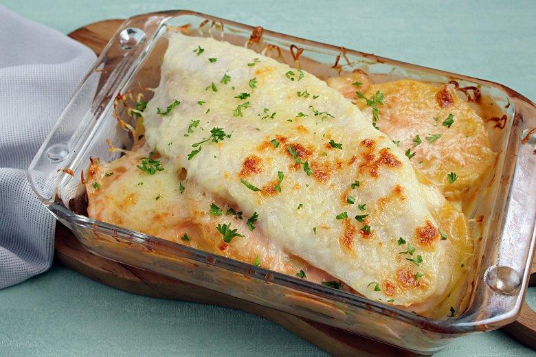 Kartoffel-Fisch-Auflauf