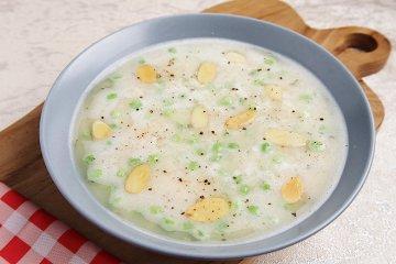 Weiße-Bohnen-Cremesuppe