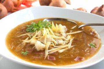 Spreewitzer Zwiebelsuppe